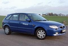 Begtest: Mazda 323