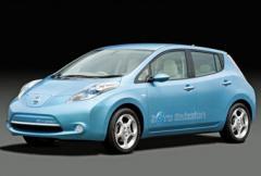 Nissan Leaf - premiär för Nissans elbil