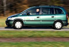 Rosttest: Opel Zafira 1,8 Comfort (2001)
