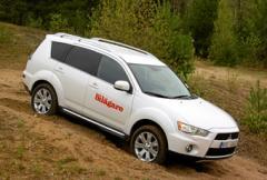 Provkörning: Mitsubishi Outlander 2,4 FFV 4WD Business
