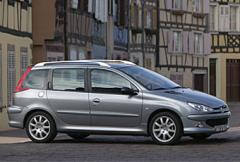 Rosttest: Peugeot 206 XR 1.4 (1999)