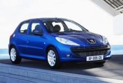 Sverigepremiär för Peugeot 206+ i maj