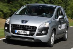 Peugeot 3008 Hybrid - fyrhjulsdriven hybrid