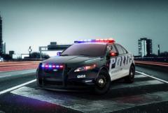 Ny polisbil i USA