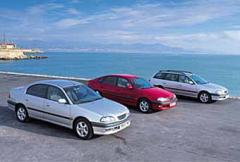 Rosttest: Toyota Avensis 1,8 Linea Terra 4-d Sedan (1998)