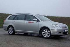Rosttest: Toyota Avensis 2,0 Business 4-d (2003)