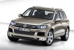 Nya Volkswagen Touareg - snålare, lättare, hybrid