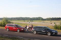 Familjens sjumilastövlar: Citroën C5 och Volvo V70