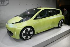 DETROIT: Toyota FT-CH
