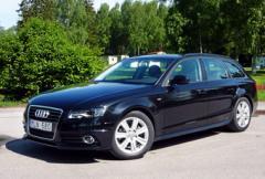 Provkörning: Audi A4 Avant 2,0 TFSI E85