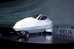 BMW visar lutande framtidsbilar