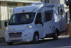 Bürstner Travel Van - skön att sova i