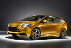 Ford Focus ST - mer muskler till Focus