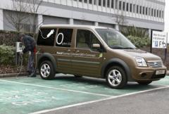Ford visar eldriven transportbil