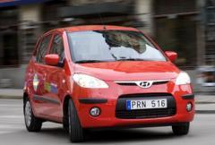 2.  Hyundai i10 - storleken ger bra betyg