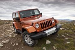 Jeep Wrangler uppdateras