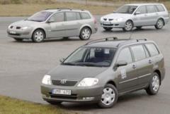 Rosttest: Toyota Corolla 1,6 5-d Linea Sol (2002)