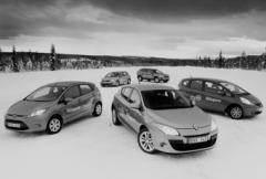Fem nya testbilar - vilken lyckas bäst 2009?