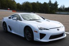 Lexus LFA får debut