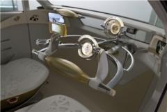 Toyota FT-EV II - utan pedaler, växelspak och ratt