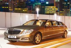 Mercedes E-klass blir 6 meter lång limousine