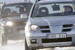 Rosttest: Mitsubishi Outlander 2,4 Sport (2004)