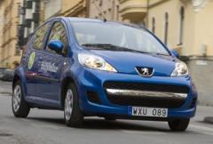 1. Peugeot 107 - testets vinnare