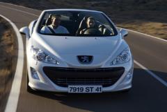 Peugeot 308 CC - närmar sig målet