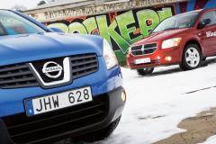 Biltest: Nissan Qashqai, Dodge Caliber
