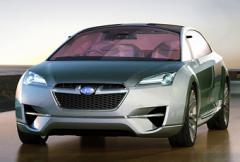 Subarus första hybrid - nu fler bilder