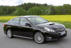 Provkörning: Subaru Legacy 2,5 GT