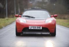 Provkörning: Tesla Roadster S