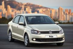 Volkswagen Polo som sedan får premiär