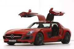 Brabus Widestar Mercedes SLS AMG – breddad måsvinge
