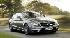 Mercedes CLS 63 AMG – effektiv V8