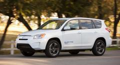 Toyota RAV4 EV – elkraft från Tesla