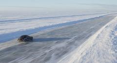 Nytt världsrekord för körning på is