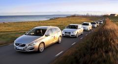 Biltest: Volvo V60 mot fem kombikonkurrenter (2010)