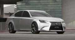 Lexus LF-Gh – smakprov på nya GS