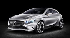 Smakprov på nya Mercedes A-klass