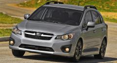 Subaru Impreza 2012 – nu officiell