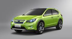Subaru XV Concept – första bilderna