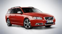 Volvo V70 R-Design får ansiktslyft