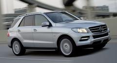 Ny upplaga av Mercedes M-klass