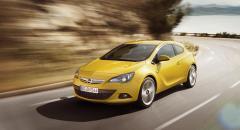Opel visar nya sportkupén Astra GTC