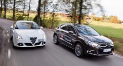 Biltest: Alfa Romeo Giulietta, Citroën DS4 (2011)