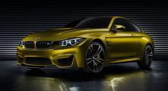 BMW visar nya M4 i konceptform