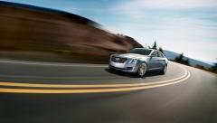 Cadillac ATS Sedan ansiktslyfts