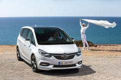 Opel uppdaterar Zafira
